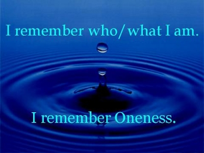 Remember Oneness