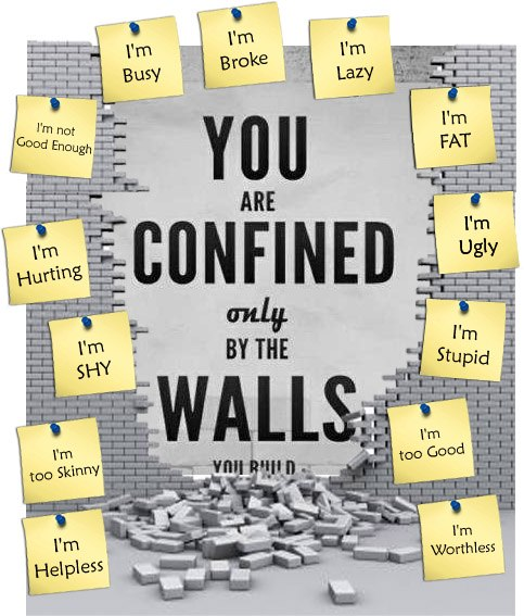 confined by walls you build