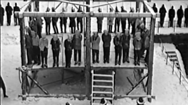 Largest Mass Execution in U.S. History