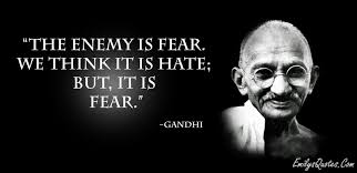 Enemy is Fear